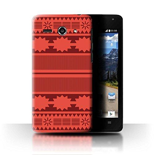 Stuff4® Hülle/Case für Huawei Ascend Y530 / Aztek/Prinzessin Kleid Muster/Karikatur Polynesische Prinzessin Kollektion