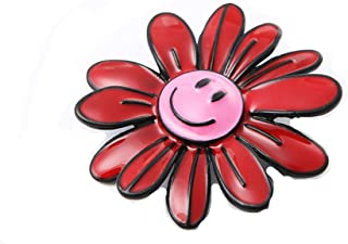 Cartoon Colorful Smile Emoji Sunflowers Flower Rainbow Metal Brooch Pins Jeans Bag Decoration for Women Fashion Jewelry Accessories