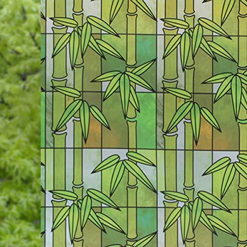 KUNHAN raamfolie raamsticker mat ondoorzichtig glas raamfolie privacy zelfklevende kerst raamstickers huisdecoratie 60cm*200cm lang