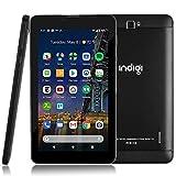 Indigi New 4G LTE 7-inch Android 9 Tablet & Phone (QuadCore + 2SIM + 2GB RAM/16GB Storage + GSM Unlocked)
