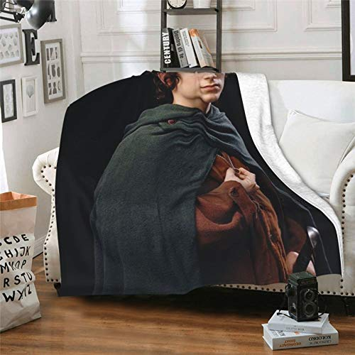 The Lo-rd of the Ri-ngs Gandalf the Gray maxi fellowship of the ring Arm Chair Covers Single Blanket Multi-function Decorative Throw Blanket Ultra Soft and Fluffy sofa stuff 50'x40'