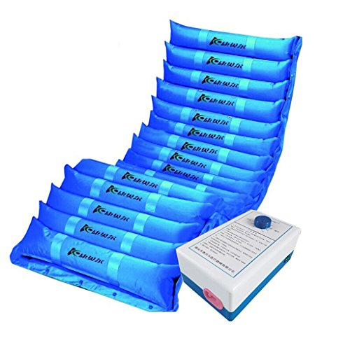 PIGE Spezielle Anti-Decubitus medizinische Luftmatratze-Umfassen aufblasbare Pumpe (Blau