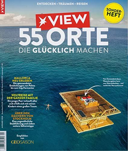 """VIEW Sonderheft 1/2019 \""""55 Orte die glücklich machen\"""""""