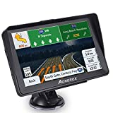 Car GPS Navigation, Aonerex 7 Inch 8GB Latest 2020 Maps Car Truck Lorry