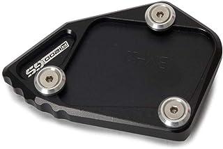 Carrfan Seitenständer Platte Pad Motorrad Zubehör Fuß Seitenständer Erweiterung CNC Aluminium für BMW R1200 GS 2007 2012 R1200 ADV 2008 2012
