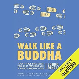 Walk like a Buddha cover art
