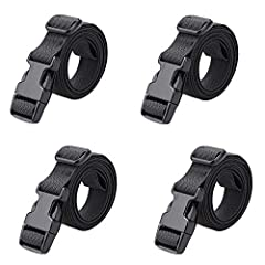 "Strap with Plastic Buckle. Stronger, wear resistant and more Durable. Package includes: 4 Packing Straps. Strap Width: 1"". Total Length: 78"" (Length includes buckle). You can adjust the length. If you still think it's too long, you could cut out some..."
