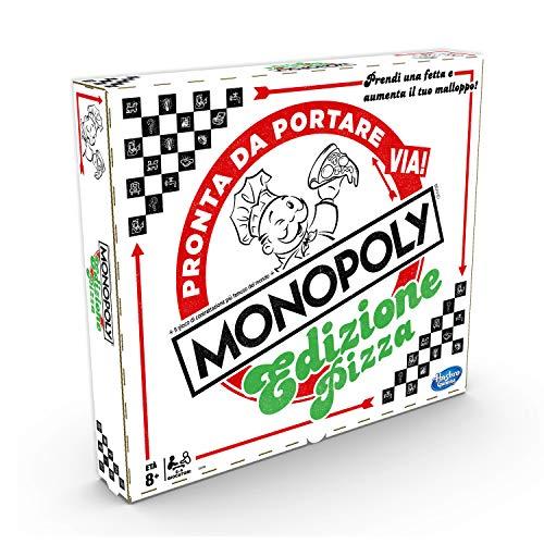 Gioco da tavolo Monopoly a tema pizza Un gioco di pizza per bambini Pedine a tema pizza Condividi l'amore formaggioso Raccogli il maggior numero di fette di pizza per vincere