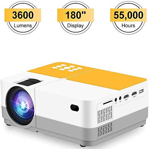 Projector, H3 Video Projector met 3600 Lumens, 180