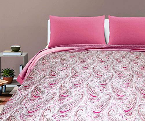 Gedruckte Tagesdecke für ein Doppelbett von 2...