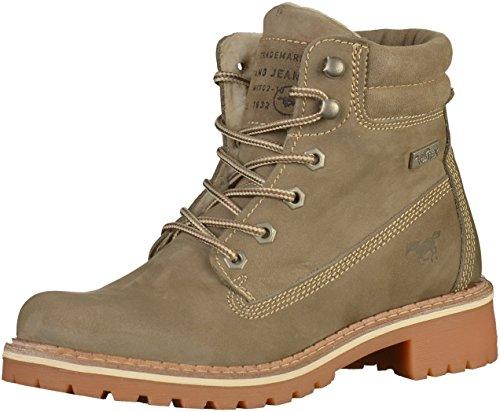 MUSTANG Shoes Boots in Übergrößen Beige 2837-604-318 große Damenschuhe, Größe:45