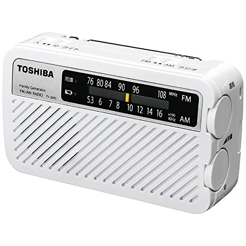 TOSHIBA(東芝)『FM/AM充電ラジオ(TY-JKR5)』