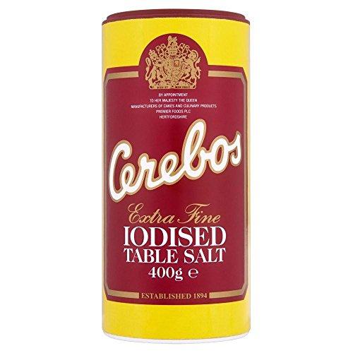 Cerebos sel iodé (400g) - Paquet de 2