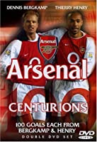 Arsenal Centurions - 100 Goals Each - Berkamp & Henry