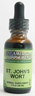 St. John's Wort American Supplements 1 oz Liquid