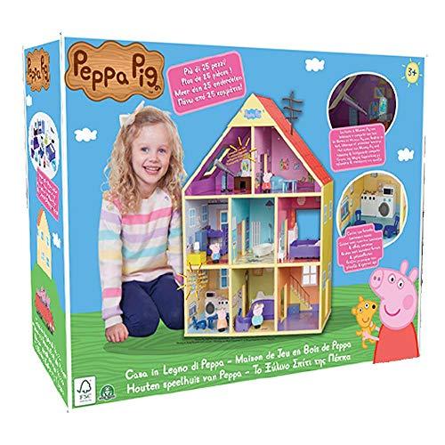 Giochi Preziosi Peppa Pig Casa in Legno Gigante, PPC80000