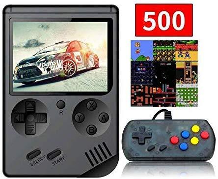Anbernic Handheld Spielkonsole, Handheld Konsole 3 Zoll 168 Retro Spielkonsole Konsole with 1PCS Joystick - Schwarz