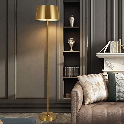 Lámpara De Pie Estándar Moderna Diseño Simple, Lámpara De Pie Moderna con Pantalla De Lámpara Colgante, Lámpara De Pie Led para Dormitorio Y Sala De Estar