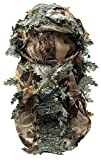 Harrington Marley Masque 3D GHILLIE - Motif camouflage, feuilles et bois - Pour la...