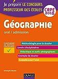 Géographie - Professeur des écoles - oral / admission - CRPE 2018 (2018)