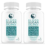 (2 Pack) Blood Sugar Balance Support Supplement, Blood Sugar Herbal Advanced Formula Pills Capsules - Supports Diabetic High Blood Pressure, Reduced Inflammation - Improved Blood & Immune Health