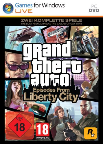 Grand Theft Auto: Episodes from Liberty City - Zwei komplette Spiele: