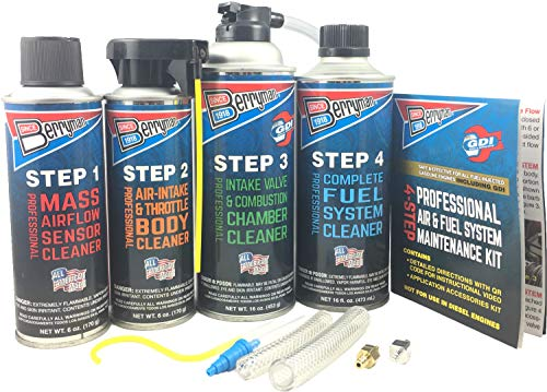 Berryman Products 2640 4-Step Professional Air & Fuel System Maintenance Kit,