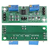 Módulo amplificador operacional secundario Colector de señal ajustable 15-20MA Amplificación de dos etapas, para oficina, para pulsos de CC, para la familia