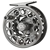 Piscifun Sword Fly Fishing Reel with CNC-machined Aluminum Alloy Body 5/6 Space Gray