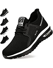 Veiligheidsschoenen voor Heren Dames Werkschoenen Lichtgewicht Ademende Beschermende Schoenen Sneaker met Stalen Neus