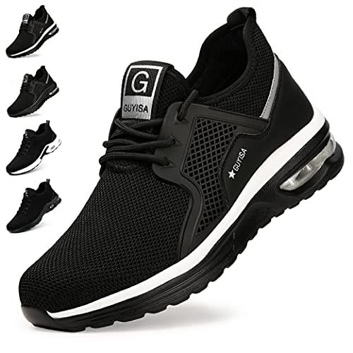 Zapatos de Seguridad Hombre Mujer Zapatillas de Trabajo con Punta