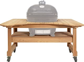 Primo Ceramic Grills Oval JR 200 Cypress Table