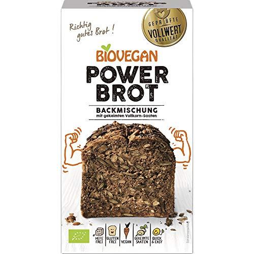 BioVegan Power-Brotbackmischung, glutenfrei (350 g) - Bio