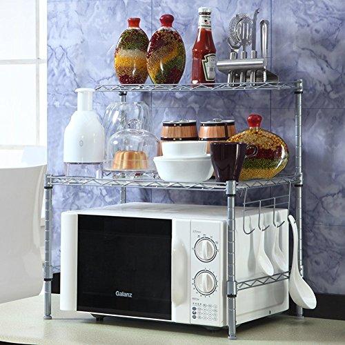 Keuken magnetron rek / opslag / specerijen / badkamer magazijnrek / afwerking opslagrek / IKEA Land-A