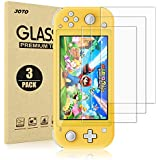 [ 3 Pack ] JOTO Switch Lite Screen Protector, Tempered Glass Screen Film Guard, Rounded Edge, for Nintendo Switch Lite 2019