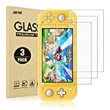 [3 Pack]Switch Lite Screen Protector, JOTO Tempered Glass Screen Film Guard Rounded Edge Real Glass Screen Protector for Nintendo Switch Lite 2019 -Clear