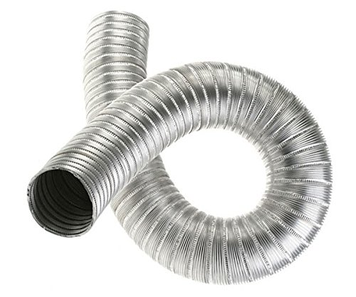 Manguera flexible de aluminio de 70 mm de longitud – 2,5 m de tubo flexible de aire de conducto flexible AL70 mm