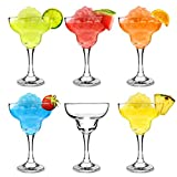 bar@drinkstuff City Margarita Cocktail Glasses 12.7oz / 360ml - Pack of 6 - Gift Boxed Coupe Glassware