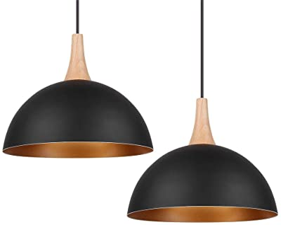 Plafoniere Industriali Diametro 30 : Lampada a sospensione vintage industriale set da diametro cm
