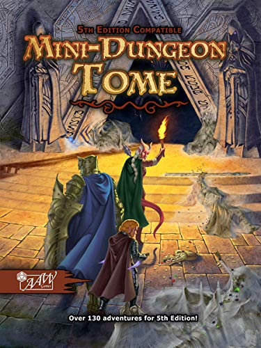 Mini-Dungeon Tome for D&D 5th Edition (AAWMDT5E)