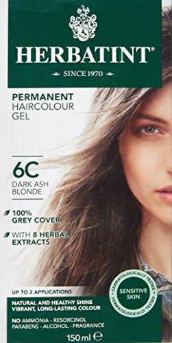Herbatint 6C Dark Ash Blonde, 150 ml