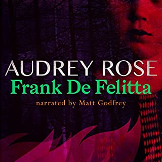 Audrey Rose                   By:                                                                                                                                 Frank De Felitta                               Narrated by:                                                                                                                                 Matt Godfrey                      Length: 13 hrs and 46 mins     9 ratings     Overall 4.2