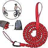 Cuerda de remolque para bicicleta infantil, correa elástica para remolcar bicicletas, cuerda de remolque, para padres y niños, cuerda de remolque, cuerda de tracción, capacidad de carga de 150 kg