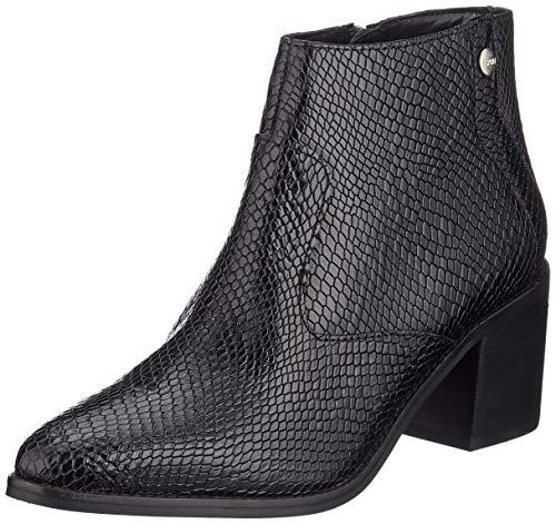 ESPRIT Damen Ghiga Snake B Stiefeletten, Schwarz (Black 001), 42 EU