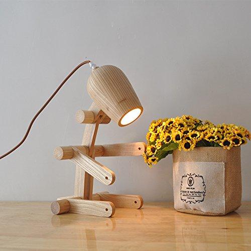 Minimalistische studie licht slaapkamer bed lampen kunnen boomstammen worden gevouwen.