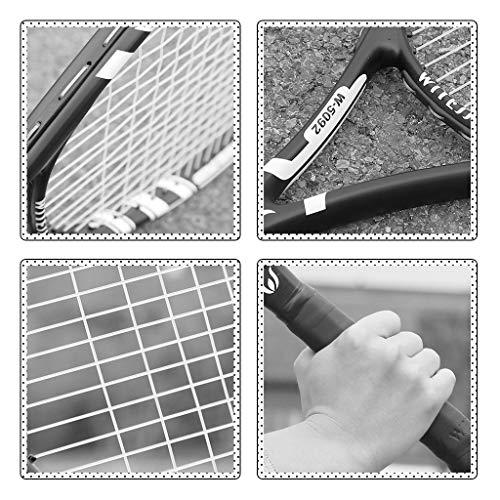 Principiante Raqueta de Tenis Raqueta de Tenis for niños de formación Animación Infantil y el Juego de la Raqueta Adolescente Raqueta 21 Pulgadas de Largo (Color : Yellow, Size : 21inches)