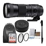 Sigma 150–600mm 5–6.3contemporáneo DG OS HSM Objetivo para Canon cámaras réflex Digitales 745101W/Fotos y Viajes