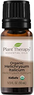 Plant Therapy Organic Helichrysum Italicum Essential Oil 100% Pure, USDA Certified Organic, Undiluted, Natural Aromatherap...