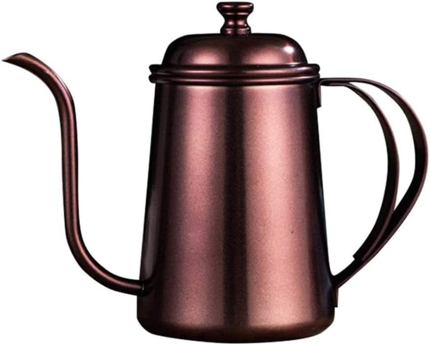 WALNUTA Very popular Gooseneck Kettle Max 86% OFF Stainless Steel Drip coffee Precisi Pot