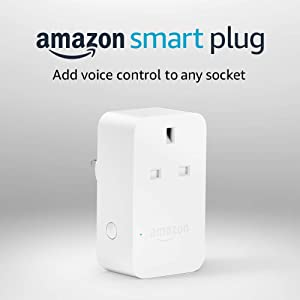Amazon Smart Plug, works with Alexa, Certified for Humans device
